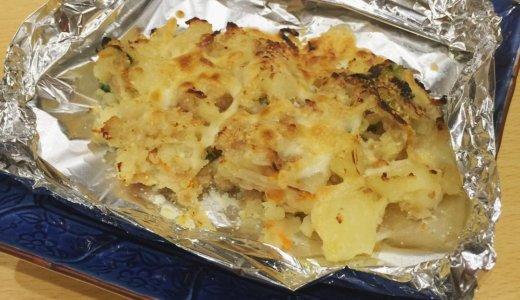 【食レポ@広島】小料理なりきよの「自家製ポテトサラダ(チーズ焼き)」