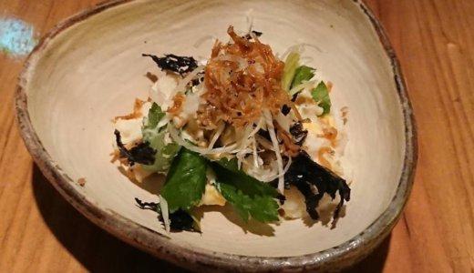 【食レポ@広島】板蕎麦 香り家の「じゃこと岩のりのポテトサラダ」
