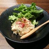 楽蔵のツナ&ベーコンの炙りポテトサラダ