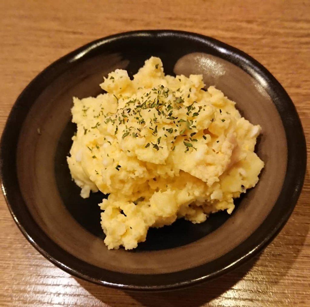 電光石火 東千田店のポテトサラダ